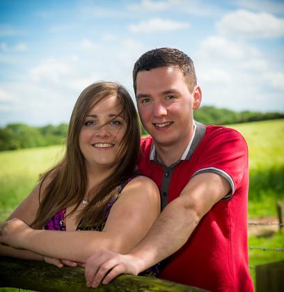 Becki and Brendon 009   Becki and Brendan   Keywords: Buckinghamshire wedding photographer pre wedding shoot, Fields, Garden Bridal portraits